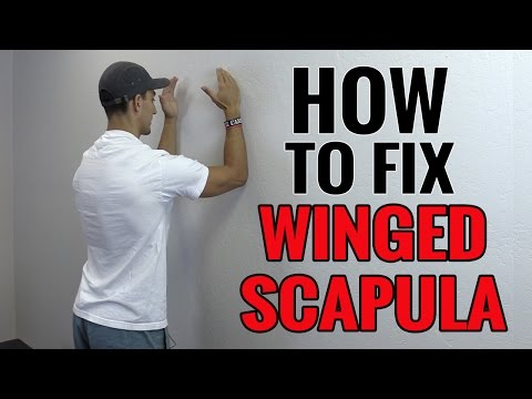 3 Exercises You Can Do To Fix Winged Scapula