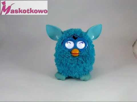 Furby 2012 - Blue Furby goes to sleep