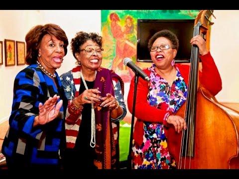 Black Women's Forum / Maxine Waters - Black History Museum Art / Gallery Tour 2017