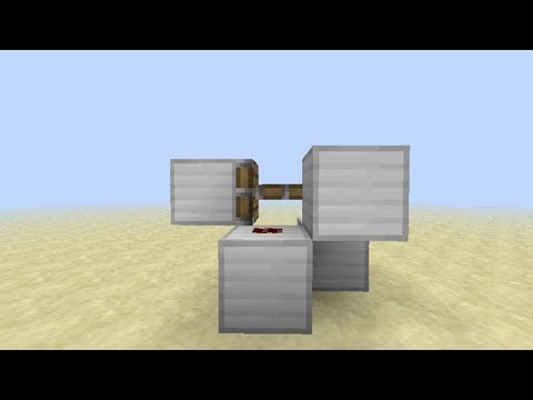 How to make a minecraft clock with pistons -