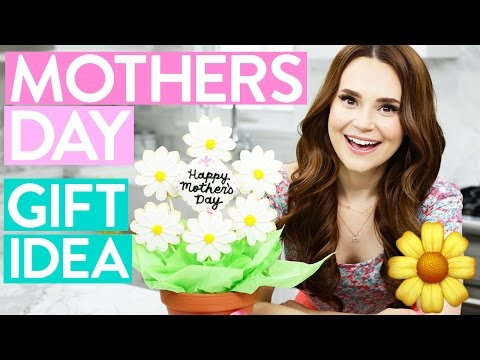 DIY COOKIE FLOWER BOUQUET - Mothers Day Gift Idea