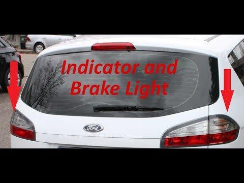 S-Max Indicator and Brake Light bulb change