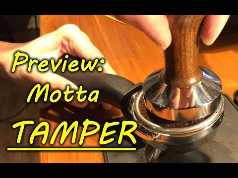 Preview : Motta Tamper Competition Series (Barista Tools)