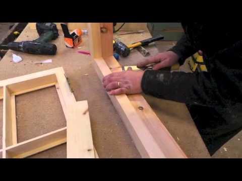 Construction of a new sash window