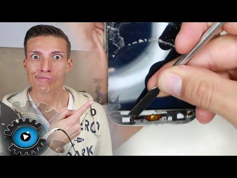 Samsung Galaxy S4 Menü Taste & Home Button Wechseln Farbe Tauschen [Deutsch]