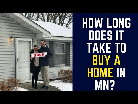 How long does it take to buy a home in Minneapolis in 2018?
