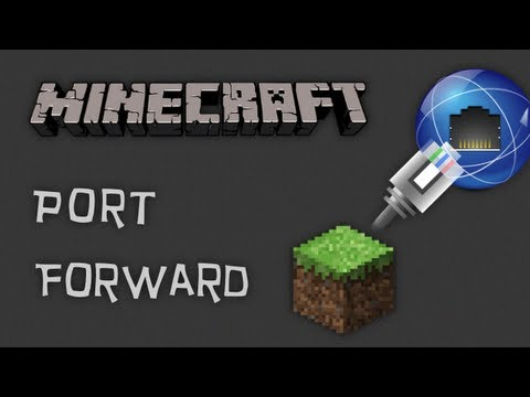 How to Port Forward any Minecraft Server! (1.7.9)