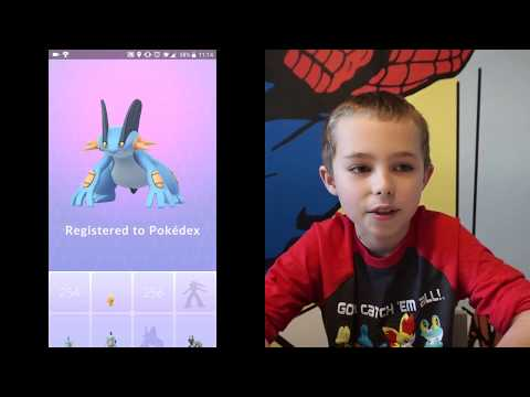 Pokemon Go Gen 3 Evolution Party including my favorite Sceptile!  #pokemongo