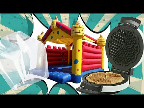 How To Make A Bouncy Castle