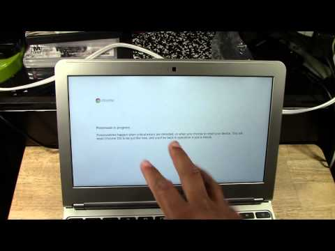 Chromebook: How to Reset Back to Factory Settings​​​ | H2TechVideos​​​