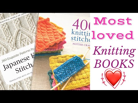 My MOST LOVED knitting books | TeoMakes