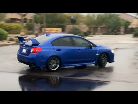 Drifting my Subaru STi for the first time..WOAH