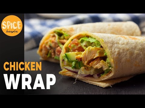 ইফতার এবং সেহরির জন্য স্বাস্থ্যকর  দুটি ভিন্ন স্বাদের চিকেন শর্মা /র্যাপ | Chicken Wrap Recipe