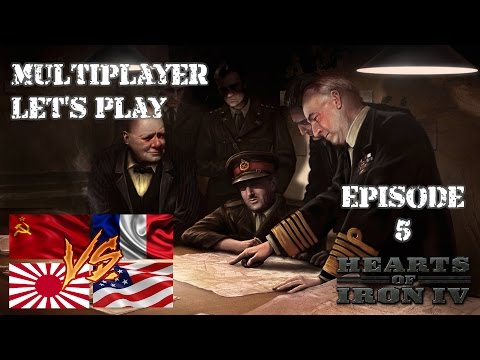Hearts of Iron 4 - PvP France - 5 - Out of Manpower