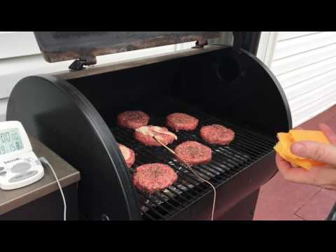 How To Cook Hamburgers On a Traeger without Flipping Them