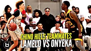 Chino Hills Teammates LaMelo Ball & Onyeka Okongwu FIRST Game AGAINST Each Other!!