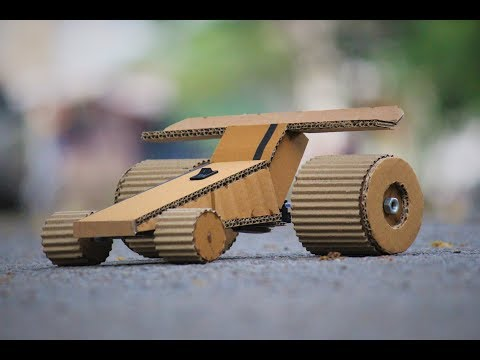 How To Make a Car - Cardboard race car