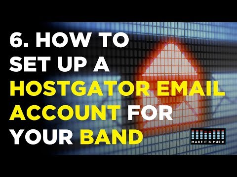 How To Set Up A Hostgator Email Account For Your Band
