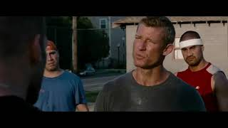 Jason Statham fight on the basketball court scene (The Expendables)