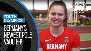 Pole Vault Training with Germany