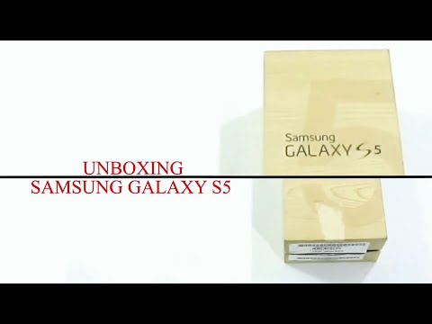 Samsung Galaxy S5 Unboxing !