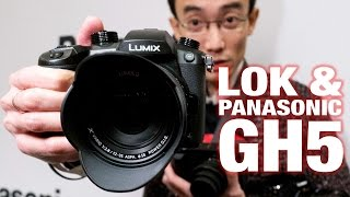 Panasonic GH5 - Lok gets his hands on it at CES 2017