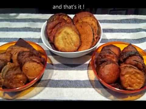 Deep fried vegetables (How to make deep-fried batter without eggs)