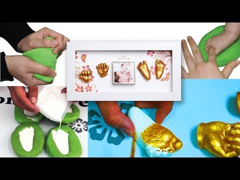 Mom s Present Baby hand & feet 3D Print Deluxe