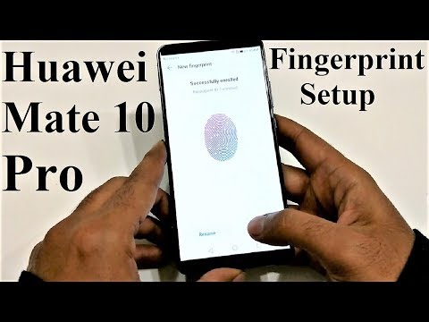 Huawei Mate 10 Pro - How to Setup Fingerprint Scanner to Perform Multiple Tasks
