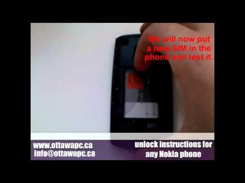 How to Unlock Any Nokia Cell Phone - X2 N8 C2 C3 C5 C6 C7 E5 E6 E73 E72 E71 Asha Lumia