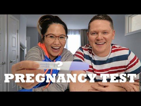 PREGNANT AGAIN? | LIVE PREGNANCY TEST RESULT
