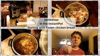 Jambalya With Frozen Chicken In The Instant Pot