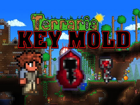 Best Terraria Crimson Key Mold Farm  (Works with the mobile version too)