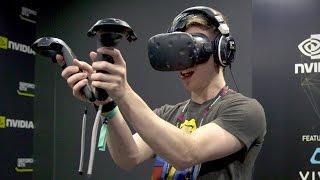 Oculus Rift vs HTC Vive vs PlayStation VR!