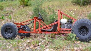 Homemade Off-Road Go Kart Project - Full video
