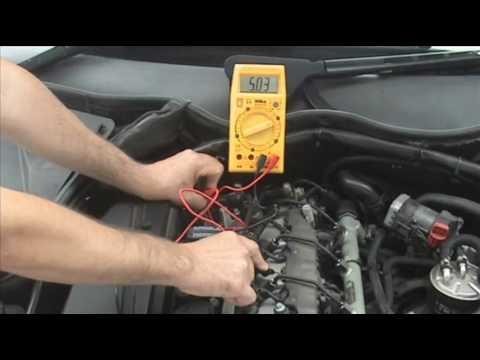 Testing CAM or CamShaft Position Sensor Hall Effect Type