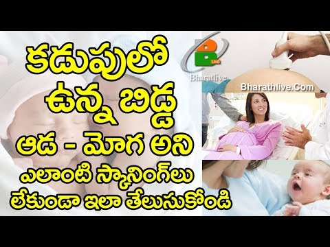 PREGNANCY GENDER TEST BOY OR GIRL With Out Scanning II Bhumi Entertainments