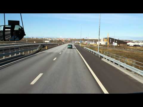 From Reykjavik to Keflavik Airport part 2