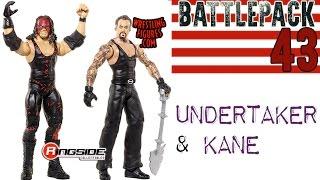 WWE FIGURE INSIDER: The Undertaker & Kane - WWE Battle Pack Series 43 Wrestling Figure By Mattel