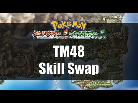 Pokemon Fire Red & Leaf Green | Where to find TM48 Skill Swap