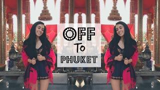 The Floating Market of Bangkok & Off to Phuket | Travel Vlog