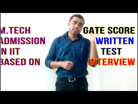 M.Tech Admission || Procedure for IISc ,IIT, NIT |  M.Tech Admission Important dates