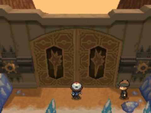 Pokémon Black and White - Victory Road Badge Gates