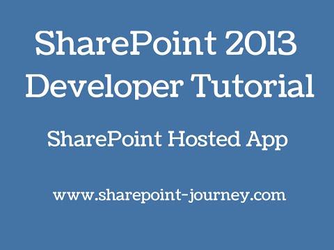 SharePoint 2013: SharePoint Apps development   SharePoint-Journey.com