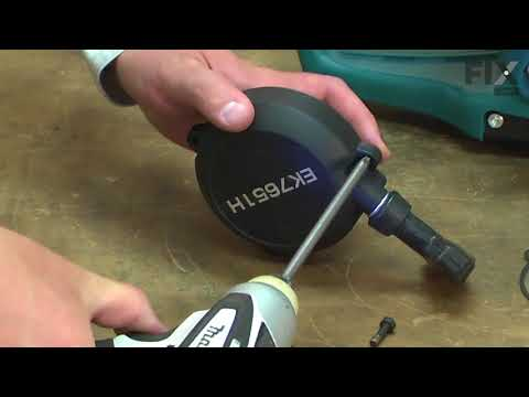 Makita Cut-Off Saw Repair - How to Replace the Starter
