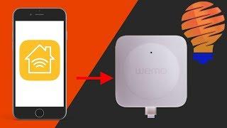 Wemo Bridge Quick Start Guide - WeMo Bridge and Apple HomeKit