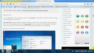 How to get a Windows 7 theme for XP