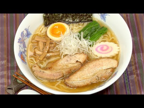 Yakibuta Ramen Recipe (The Best Noodles with Tender Roasted Pork) [Remastered]   Cooking with Dog