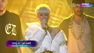[FULL HD] AGNEZ MO PERFORM AT MAMA 2017