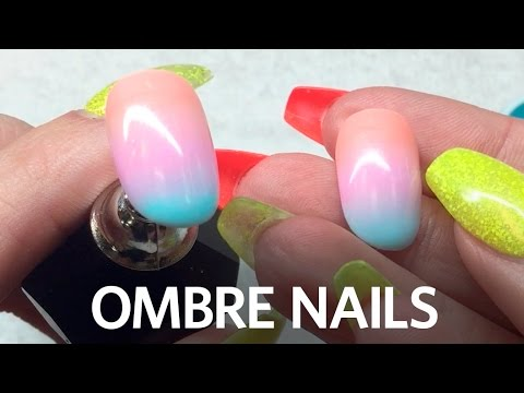 Ombre Gel Nails and Color Theory